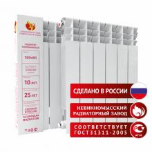 Радиатор алюминиевый НРЗ 500/80 Невинномысский Радиаторный Завод