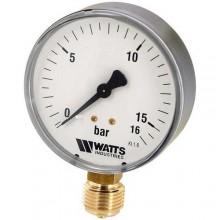 """Манометр радиальный 1/4"""" 50/10 Watts"""