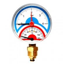 """Термоманометр радиальный Watts  TMRA 6-1/2"""""""