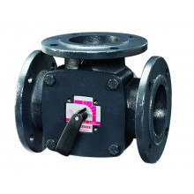 Клапан регулирующий поворотный  ESBE 3F150, KVS 400