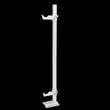 Кронштейн напольный для алюминиевых радиаторов (регулируемый) H=700мм