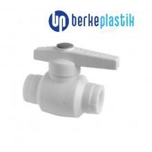 Кран шаровый PP-R 20 Berke Plastik (полипропилен)