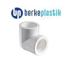 Угольник 90° PP-R 20 Berke Plastik (полипропилен)
