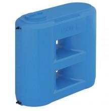 Бак для воды Combi Aquatech  W-1500 ВW (сине-белый) с поплавком