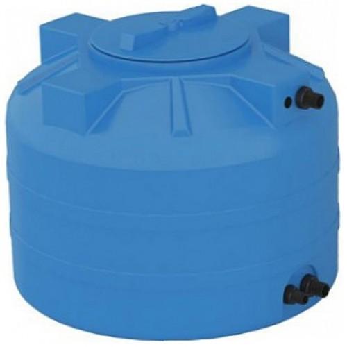 бак пластиковый aquatech atv 200 синий с поплавком