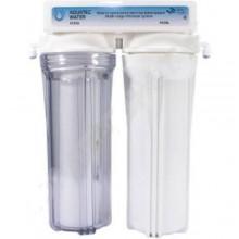Фильтр Aquatech  2 ступени (прозр; механ, уголь) (FDC200)