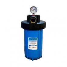 """Корпус фильтра Aquatech BB 10"""", 1"""" (кронштейн,манометр,латунные вставки)"""