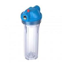 """Фильтр для холодной воды  Aquatech  (прозрачный корпус 10"""")   1/2"""" (без картриджа)"""