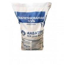 Соль таблетированная Aquatech NaCl (25 кг.)