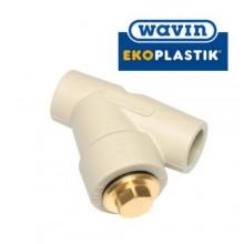 Фильтр D20 WAVIN Ekoplastik Чехия  (полипропилен)