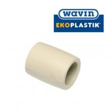 Муфта D20 WAVIN Ekoplastik Чехия  (полипропилен)