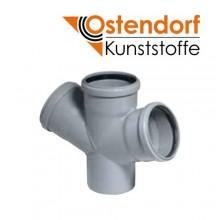 Крестовина Ostendorf HTDA PP D110x50мм 67° для внутренней канализации