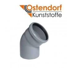 Отвод Ostendorf HTB PP D110мм 45° для внутренней канализации